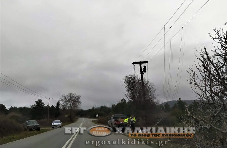 Διακοπή ηλεκτρικού ρεύματος σε περιοχές της Χαλκιδικής