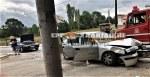 Τροχαίο ατύχημα στην είσοδο της Αρναίας  στην Χαλκιδική