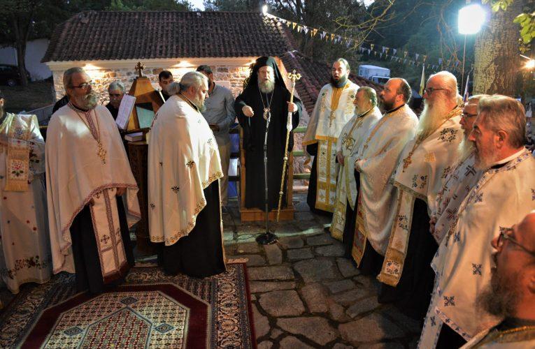 Ιερισσού: «Ο Πρόδρομος ζητεί απ' όλους να ζήσουμε πνευματική ζωή»