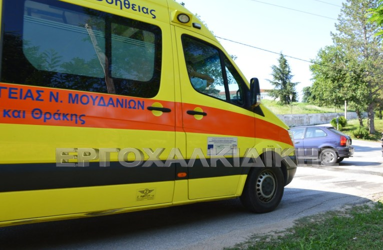 Τροχαίο ατύχημα με τουλάχιστον έξι οχήματα στην Εθνική Οδό Θεσσαλονίκη – Νέων Μουδανιών.