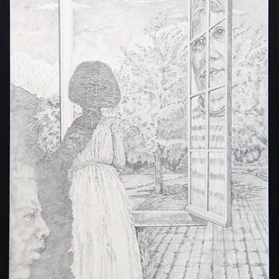 Erhard Holley - Am Fenster