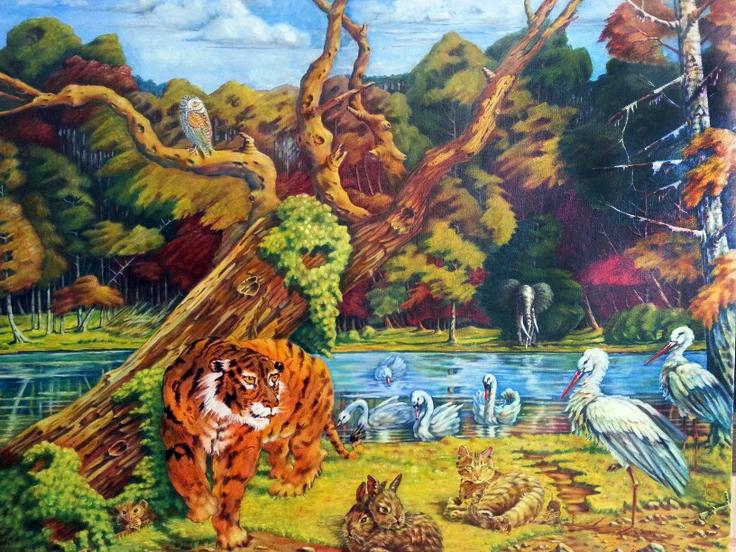 Erhard Holley - Tiere