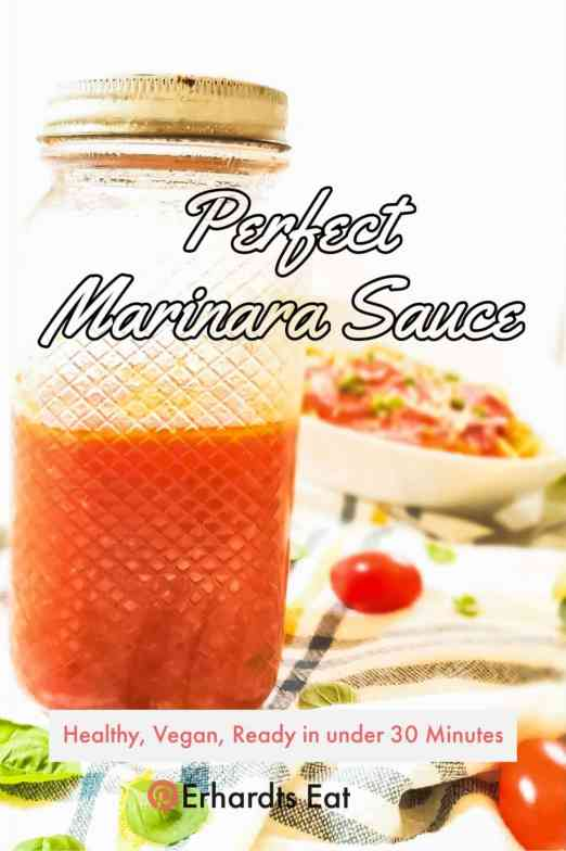 Simple and amazing marinara sauce! Goes perfectly with pizza, pasta and as a dip!
