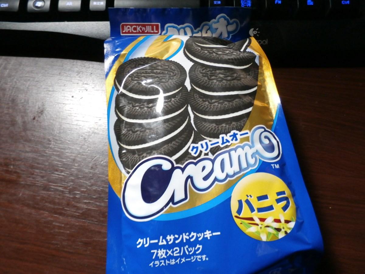 オレオのパクリ菓子「クリームオー」を食べてみた