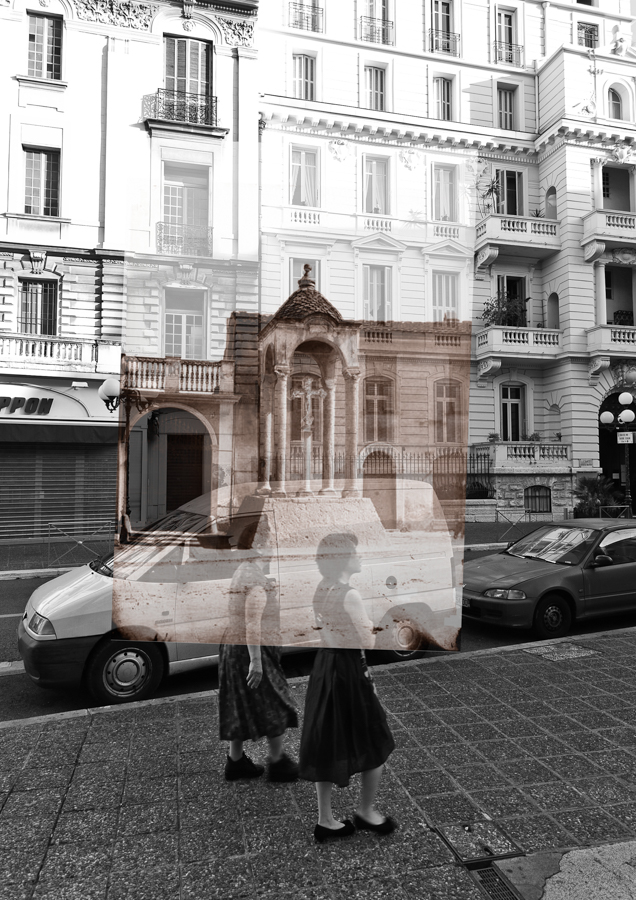 Superposition de photographies