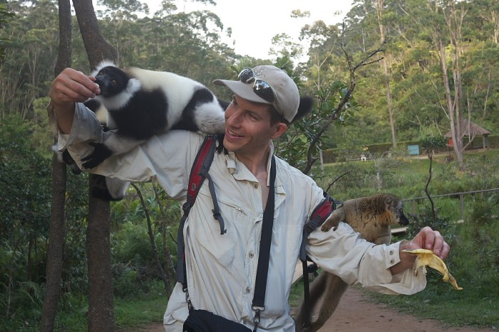 Lemurs Island in Vakona Hotel