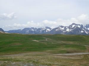 Les prairies du col de Poutran