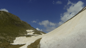 Le col du Sabot - La fin de la route