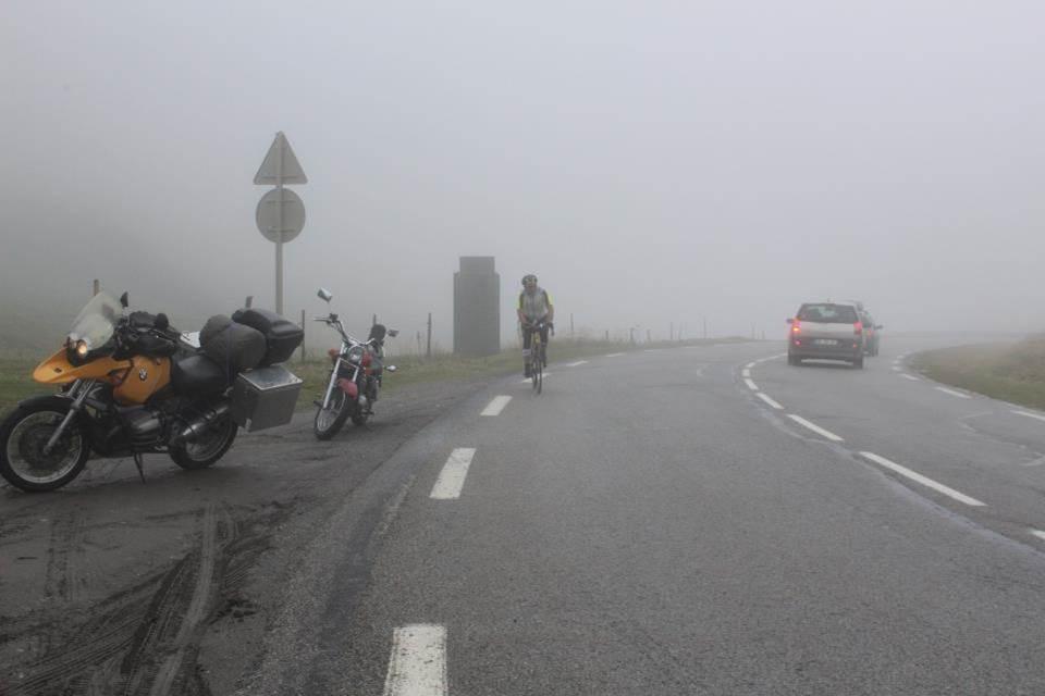 Arrivée Mont Cenis