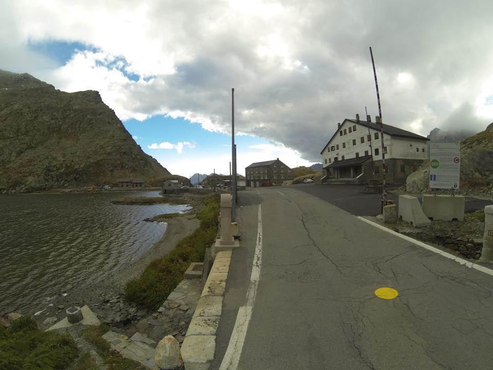 Le col du Grand Saint Bernard