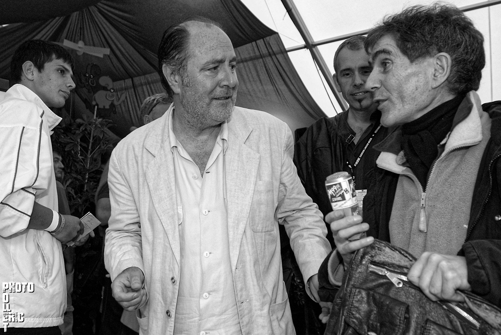 Michel Delpech Vieilles Charrues 2005