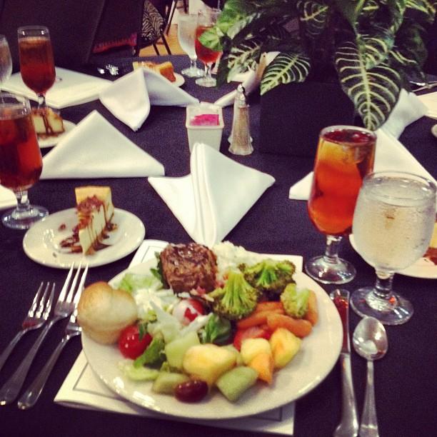 Great food at Msu honors banquet