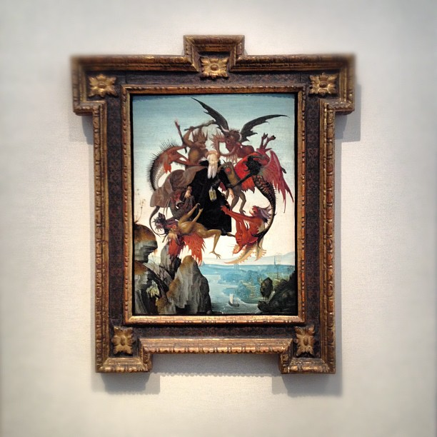 Torment of St Anthony - Michelangelo Buonarroti