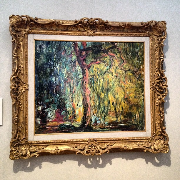 Weeping Willow - Claude Monet