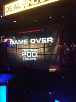 Deal or No Deal at Dave and Busters