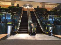 Lobby of Brooklyn Marriott