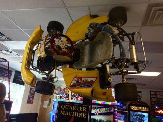 Go-Kart Hung Inside