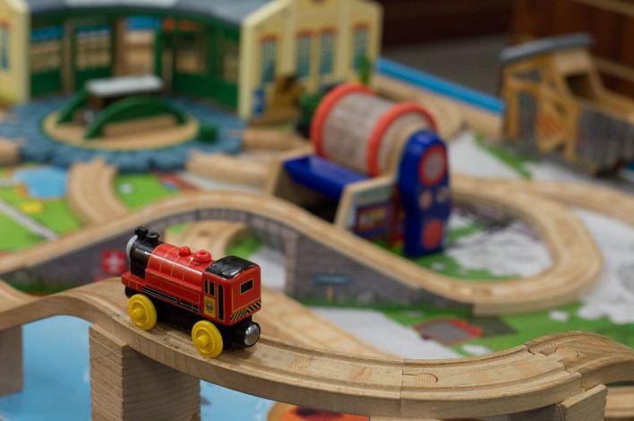 Train Set at Hastings