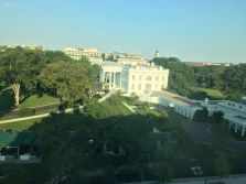 View of White House from Eisenhower Executive Office Building