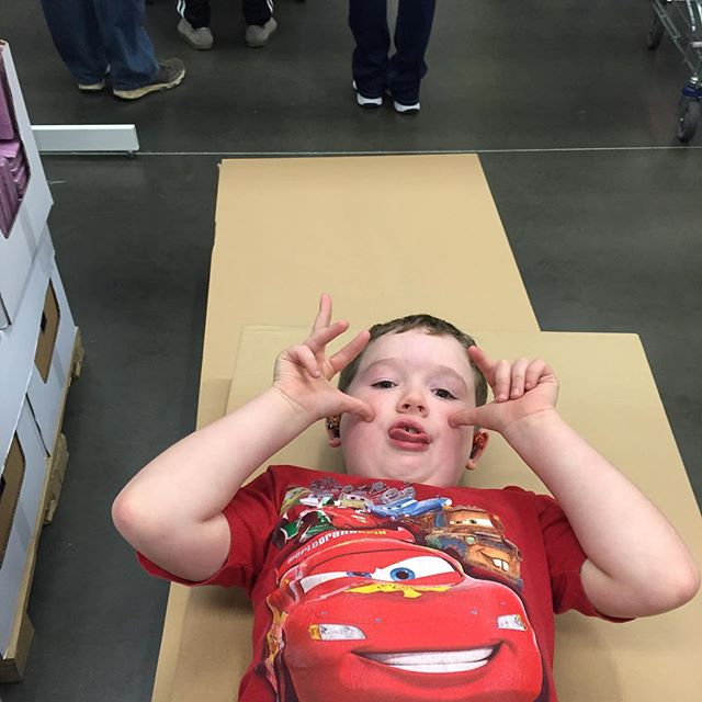 Happy to be done at ikea.