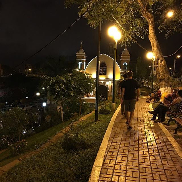 This path led us to the bars and restaurants in Barranco.