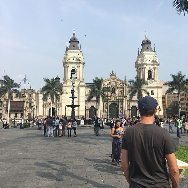 Miguel in city center of Lima.