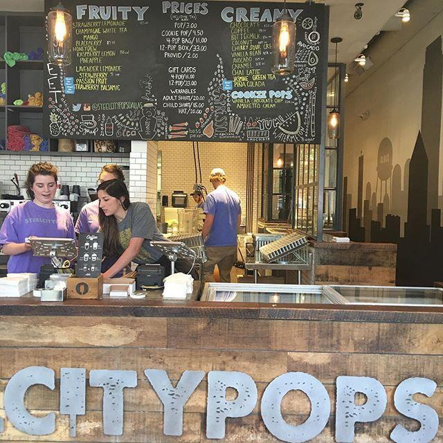 Dallasmatticians eating popsicles 😉