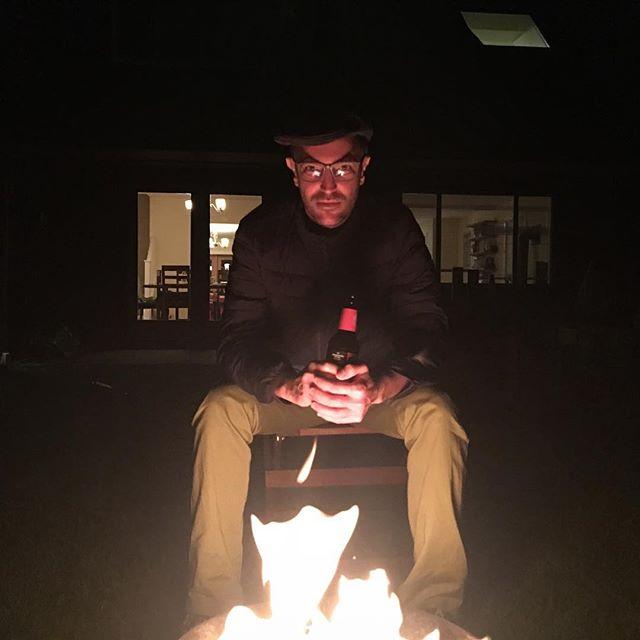 Miguel at the campfire #a8cgm #travelmattic