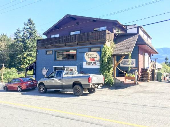 Pub on Bowen Island