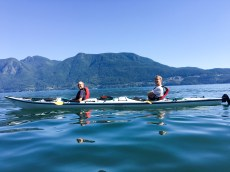 Miguel and Dan kayaking