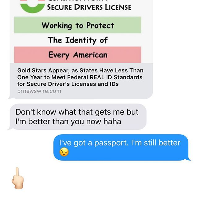 Sara was feeling herself after she got her fancy new drivers license with the gold star 😂