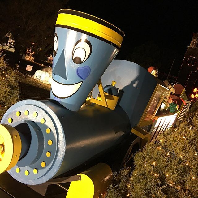 The Little Engine that Could at the Fantasy of Lights.