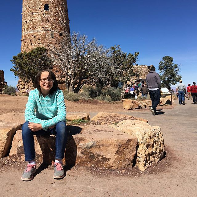 Destiny at the desert view watchtower
