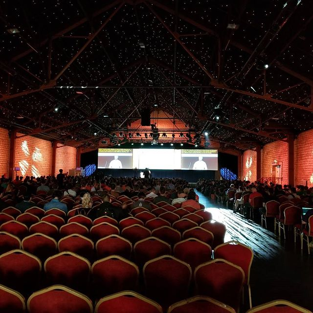 Started out a bit hectic, but it was fun managing this room todsy! Had a great group. #wceu