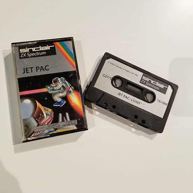 Today I learned that video games came on cassettes at one time.