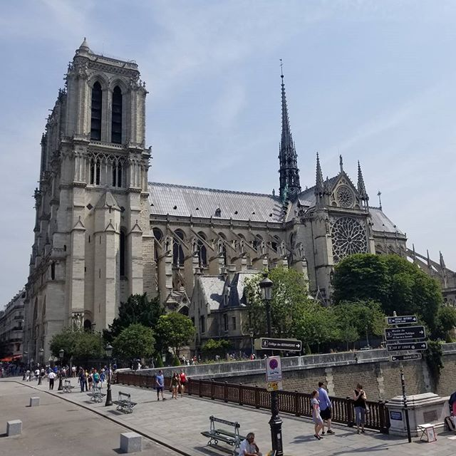 Notre Dame #latergram