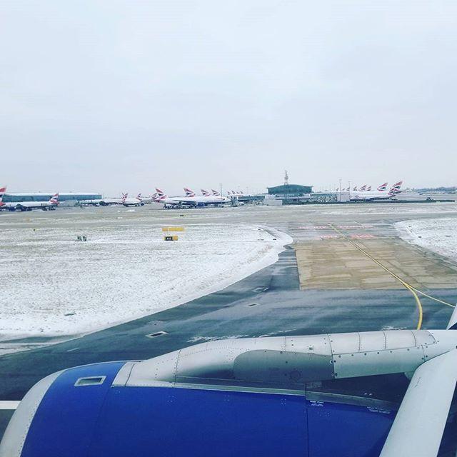Back in London Heathrow