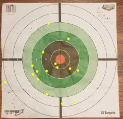 25 yards with one hand – 20180904