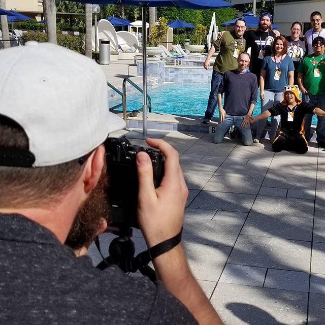 @jeffgolenski taking Jetpack team photos. #a8cgm