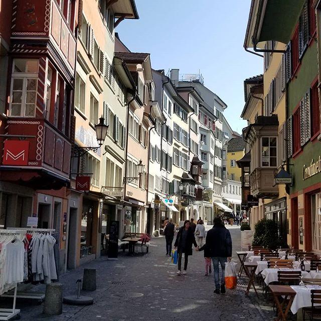 A street in Zurich