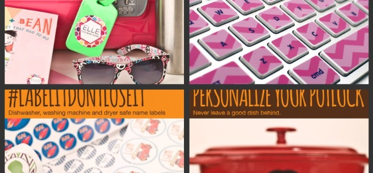 You're Going to Love Kidecals! Label Everything! #Review and #Giveaway