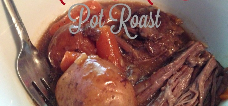 Crocka Cola Pot Roast #SlowCooker #Recipe
