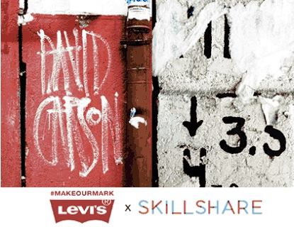 LEARN. CREATE. GIVE BACK. with Levi's and Skillshare at The School of #MAKEOURMARK