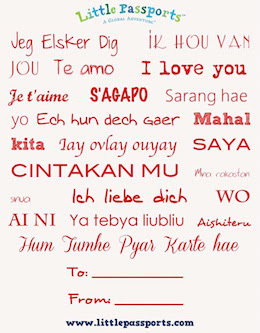 """I Love You"" Translations From Around The World and Free Valentine's Day Printables"