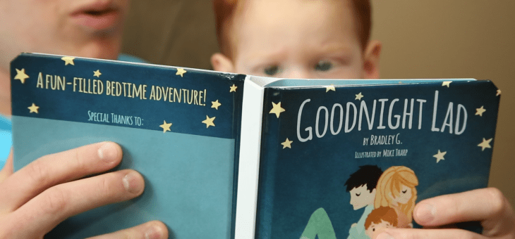 Goodnight Lad is a New Way to Read Children's Books #KidsApps #Kickstarter