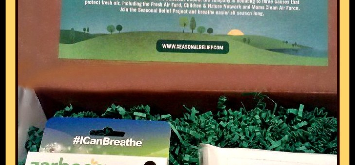 Breathe Easy for a Cause With Zarbee's Seasonal Relief