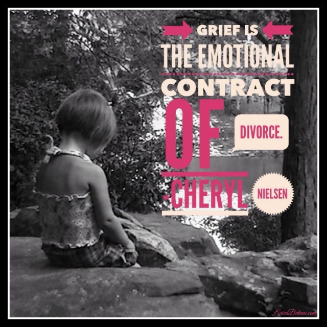 childrens emotions after a divorce