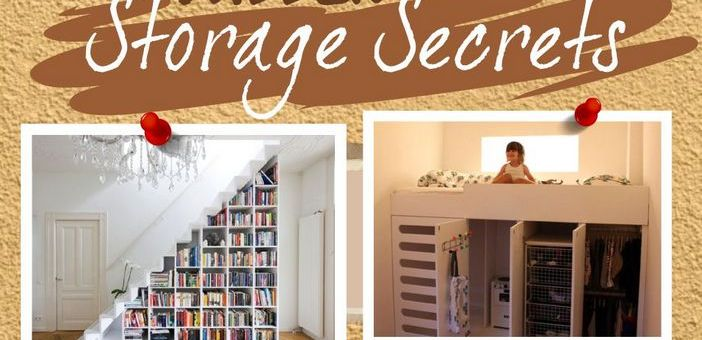 Home Organization: Declutter Your Home With The Space Savers Encyclopedia #Infographic