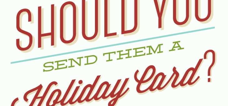Should You Send Them a Christmas Card? Six Tips for Holiday Card Success! #Infographic