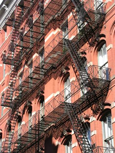 Fire Escapes of New York (c) Gregory Runyan